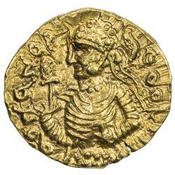 KUSHAN: Huvishka, ca. 155-187, AV 1/4 dinar (1.98g). EF