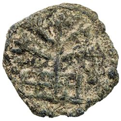 CEYLON: Anonymous, 3rd/4th century, lead round (1.55g). VF