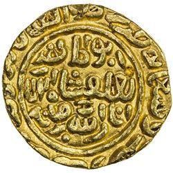 DELHI: Muhammad III b. Tughluq, 1325-1351, AV tanka (11.04g), Baldat Qutbabad, AH726. EF