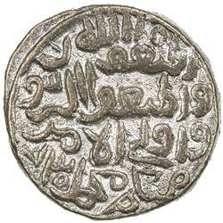 DELHI: Muhammad III b. Tughluq, 1325-1351, BI 1/2 tanka (7.22g), NM, AH730. EF