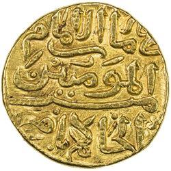 DELHI: Muhammad III, 1325-1351, AV dinar (12.87g), Delhi, AH726. VF-EF