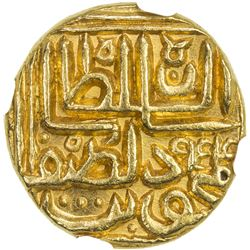 GUJARAT: Nasir al-Din Mahmud III, 1537-1553, AV tanka, NM, AH954. MS65
