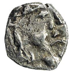 SIND: Prachandendra, ca. 7th century, AR damma (0.55g). VF-EF