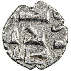 HABBARIDS OF SIND: al-Muzaffar, ca. early 1000s, AR damma (0.43g). EF