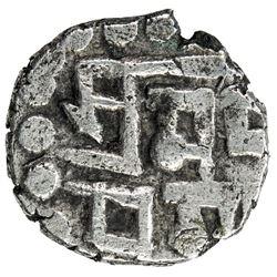 AMIRS OF MULTAN: Asad, late 800s, AR damma (0.49g). VF-EF