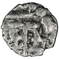 AMIRS OF MULTAN: Fahad, ca. 930s/940s, AR damma (0.42g). VF