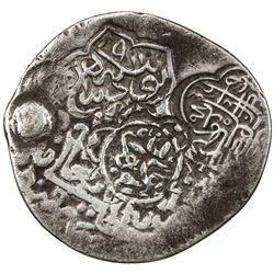 MUGHAL: Zahir al-Din Babur, 1st or 2nd reign, at Samarqand, 1497-1498 & 1500-1501, AR tanka (4.72g),