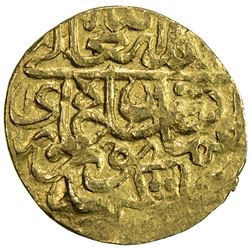 MUGHAL: Humayun, 1530-1556, AV fractional mithqal (0.70g), NM, ND. VF