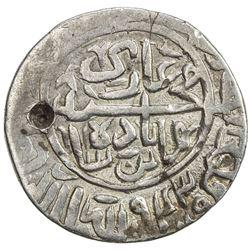 MUGHAL: Humayun, 1530-1556, AR shahrukhi (4.70g), uncertain mint, AH943. F-VF