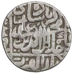 MUGHAL: Akbar I, 1556-1605, AR rupee (11.30g), Ujjain, AH978. F-VF