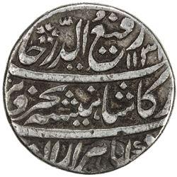 MUGHAL: Rafi-ud-Darjat, 1719, AR rupee (11.14g), Kora, AH1131 year one (ahad). VF