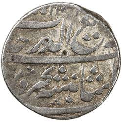 MUGHAL: Rafi-ud-Darjat, 1719, AR rupee (10.71g), Junagadh, AH1131 year one (ahad). VF