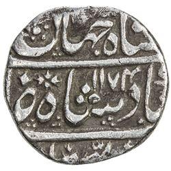 MUGHAL: Shah Jahan III, 1759-1760, AR rupee (10.93g), Hasanabad, AH1174 year one (ahad). VF