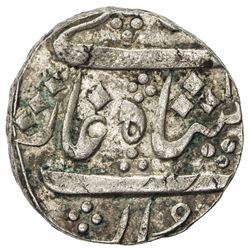 BARODA: Anand Rao, 1800-1819, AR rupee (11.43g), Jambusar, AH1xxx year 8. EF