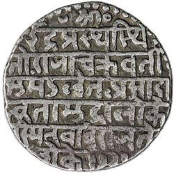 INDORE: Jaswant Rao, 1798-1811, AR nazarana rupee (11.24g), SE1728 (1806). VF-EF