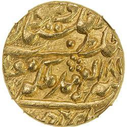 JAIPUR: Ram Singh, 1835-1880, AV mohur, Sawai Jaipur, year 23. NGC MS65