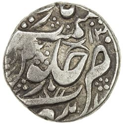 MALER KOTLA: Ata'ullah Khan, 1784-1809, AR rupee (10.88g), Sahrind, AH(12)13