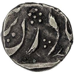 MALER KOTLA: Sikandar Ali Khan, 1859-1871, AR 1/4 rupee (2.68g), Sahrind, ND