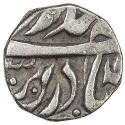 MALER KOTLA: Sikandar Ali Khan, 1859-1871, AR 1/4 rupee (2.60g), Sahrind, ND