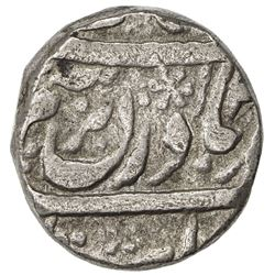 MALER KOTLA: Ibrahim Ali Khan, 1871-1908, AR rupee (10.57g), Sahrind, ND
