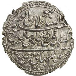 MYSORE: Tipu Sutlan, 1782-1799, AR rupee, Patan, AM1218 year 8. NGC MS64