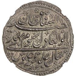MYSORE: Tipu Sultan, 1782-1799, AR double rupee, Patan, AH1199 year 3. NGC MS63