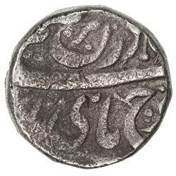 PATIALA: Rajinder Singh, 1876-1900, AR rupee (10.97g), VS[19]44