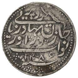 RADHANPUR: Zorawar Khan, 1825-1874, AR rupee (11.33g), Radhanpur, 1869//AH1286. VF-EF