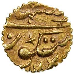 SIKH EMPIRE: AV rupee (1/15 mohur) (0.56g), VS1905. EF-AU