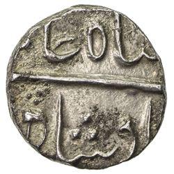 BOMBAY PRESIDENCY: AR 1/2 rupee (5.76g), Jambusar, year (22). VF-EF