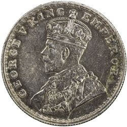 BRITISH INDIA: George V, 1910-1936, AR rupee, ND. AU