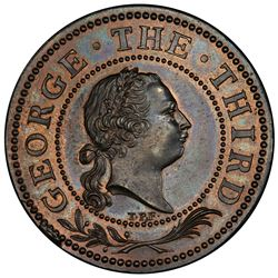 BRITISH INDIA: George III, 1760-1820, AE medal (1761). PCGS PF64