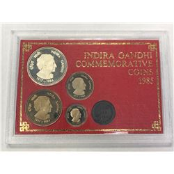 INDIA: Republic, Proof Set (4 pieces), 1985. PF