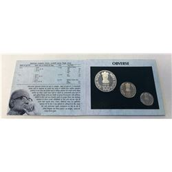 INDIA: Republic, Proof Set (3 pieces), 2002