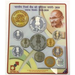 INDIA: Republic, Proof Set (5 pieces), 2010