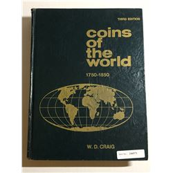 Craig, William D. Coins of the World 1750-1850