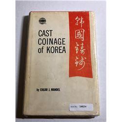 Mandel, Edgar J. Cast Coinage of Korea