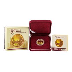 1997 Hong Kong $1000 Commemorative Gold Coin