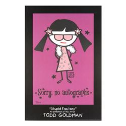 Sorry, No Autographs by Goldman, Todd
