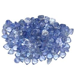 16.51 ctw Round Mixed Tanzanite Parcel