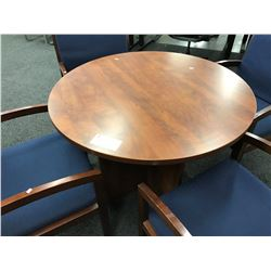 CHERRY 30'' ROUND CONFERENCE TABLE