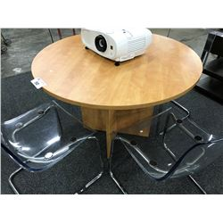 LIGHT CHERRY 36'' ROUND TABLE