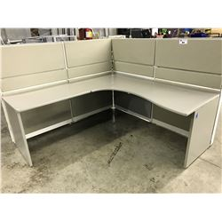 LOT OF APPROX. 10 TEKNION MODULAR WORKSTATIONS