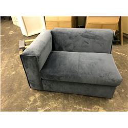 BLUE SUAVE LOUNGE CHAIR