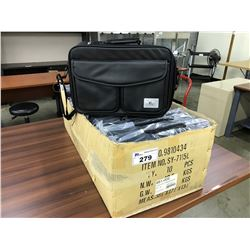 LOT OF 10 BRAND NEW LAPTOP BAGS/BRIEFCASES