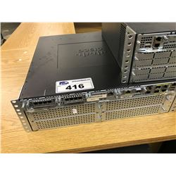 CISCO 3945 NETWORK RACK UNIT WITH CONTENTS