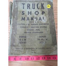 TRUCK SHOP MANUAL VOLUME 2