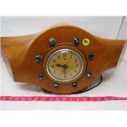 AIRPLANE PROPELLER CLOCK- TELECHRON