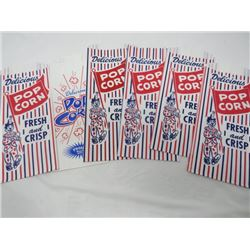 LOT OF POPCORN BAGS FROM THE CIRCUS