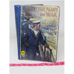BOOK (BRITISH NAVY AT WAR)